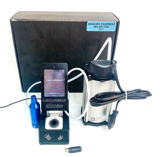 Used Lecureux Escrew Controller TE-626E2 Motor, SP 302 SA-V Diaphragm Pump (7731)W