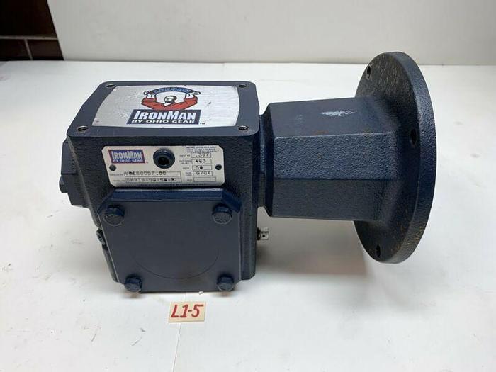 Used Ironman BM818-50-56-R Gear Reducer .397hp Ratio 50:1 *Warranty*