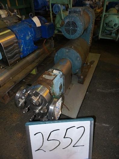 Used Waukesha Model 30 Positive Displacement Pump