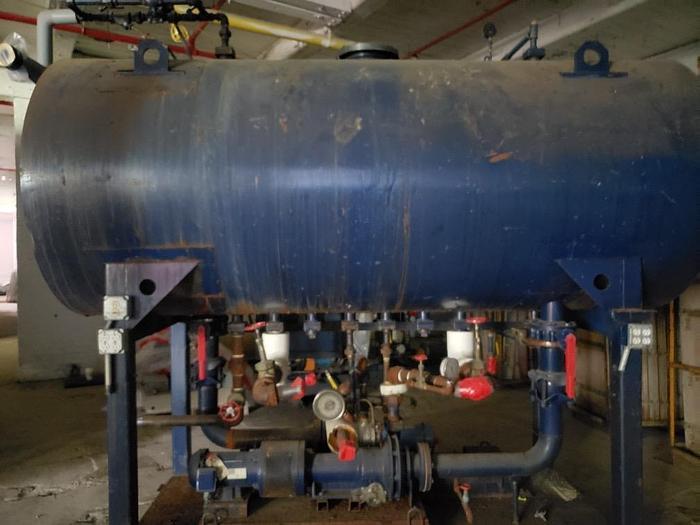 Used Boiler feed water tank Low pressure pumps