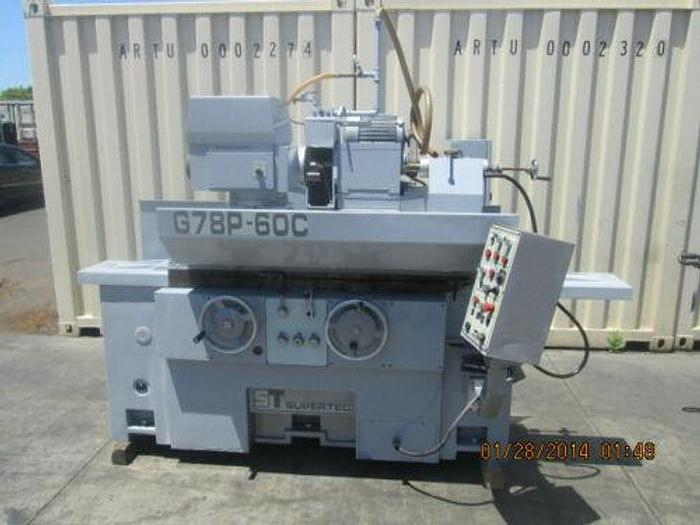 """Used 1998 SUPERTEC MODEL G78P-60C 31"""" X 20"""" AUTOMATIC CYLINDRICAL GRINDER SOLD AS IS"""