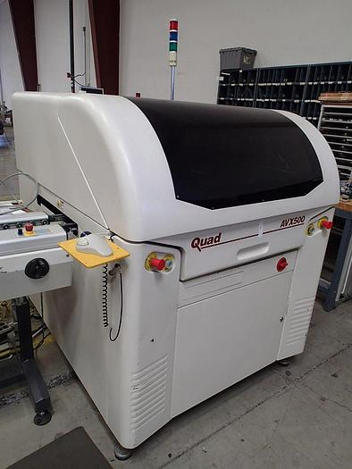 MPM UP-500/Quad AVX-500 Automatic Stencil Printer