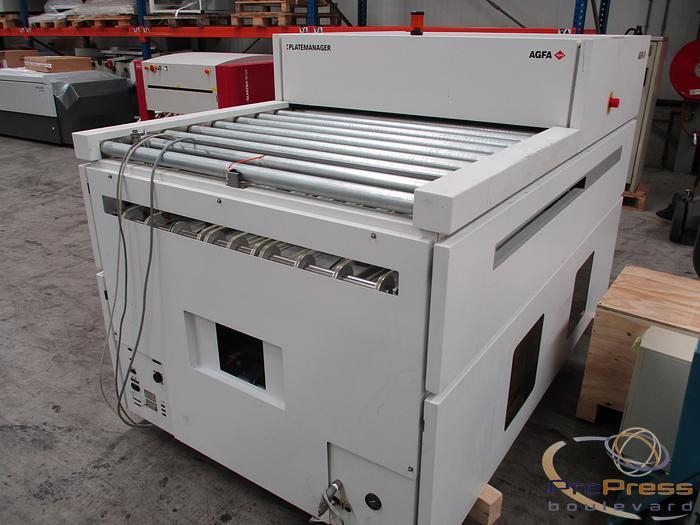 Refurbished 2005 AGFA Platemanager Type 3434/501