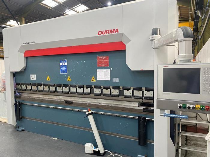 Used 2017 Durma ADS 37175 CnC Pressbrake