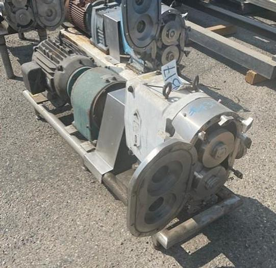 Used Waukesha Model 220 Positive Displacement Pump 220