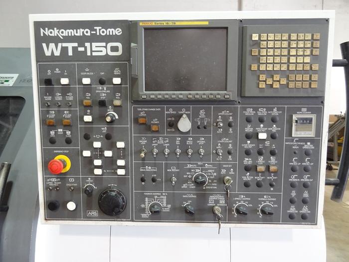 NAKAMURA TOME WT150 CNC 8 AXIS LATHE 2005