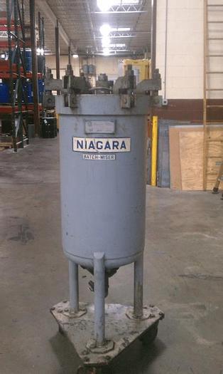 Used NIAGARA HORIZONTAL PLATE FILTER – S/S – 75 PSI