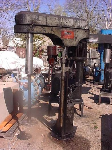Used 10 HP/XP EPWORTH MOREHOUSE COWLES HIGH SPEED DISPERSER - VARIABLE SPEED (#9833)