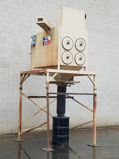 Refurbished ABS 4,000 CFM CARTRIDGE-TYPE DUST COLLECTION SYSTEM - RECONDITIONED (#9829)