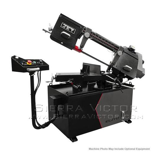 JET ELITE EHB-8VSM, 8 x 13 Variable Speed Mitering Bandsaw 891020