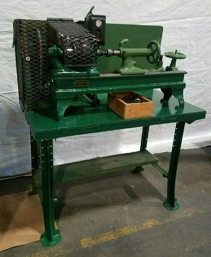 Used Lathe Wood Working Spinning Metal with Tooling