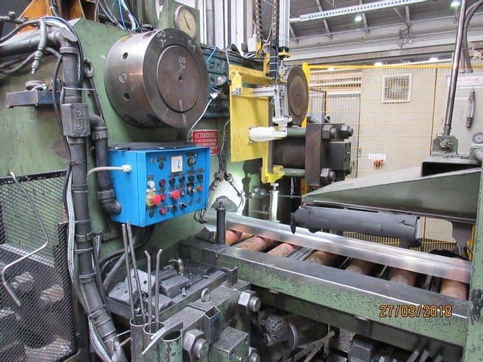 Used 2200 ton Danieli / Breda Aluminum Profile Extrusion Press: EX-491