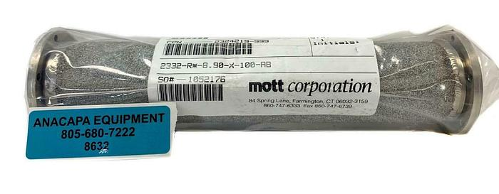 Mott Corporation 2332-R-8.90-X-100-AB Porous Filter Element New (8632)W