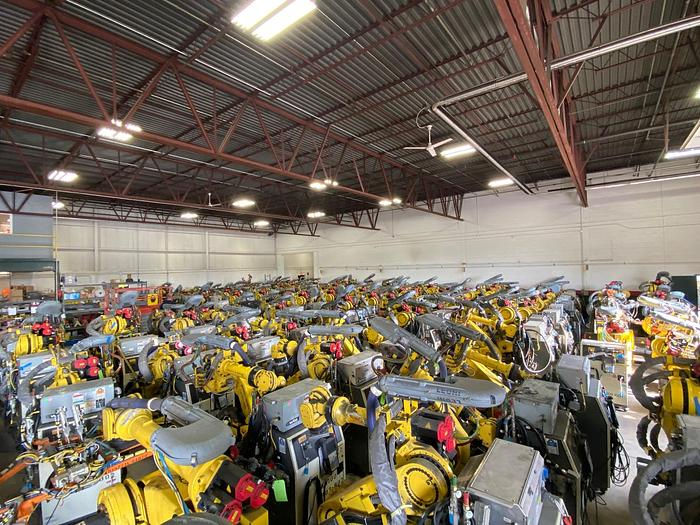 FANUC, VERY LARGE  QUANTITY VARIOUS MODELS & CAPACITES AVAILABLE