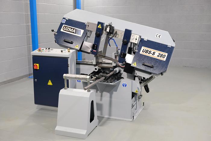 UZMA 280 Horizontal Semi Automatic Bandsaw
