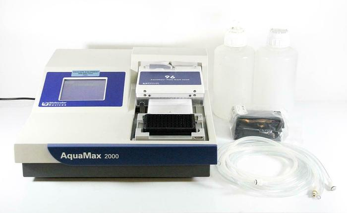 Used Molecular Devices AquaMax 2000 Microplate Washer 96 Plate Washer Head (7093) R