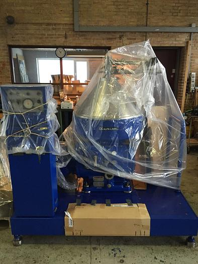 Refurbished Alfa Laval VNPX410S-34G separator module for clarification of liquids