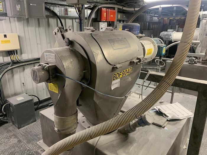 Used 2000 KEMUTEC KEK K650 Centrifugal Sifter
