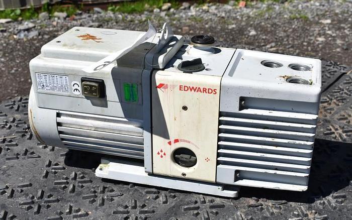 Used USED VACUUM PUMP, EDWARDS RV8, 6.9 CFM