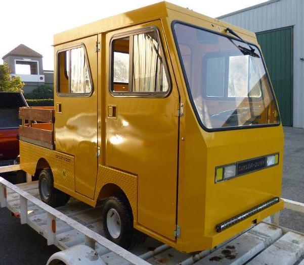 Used 2016 Taylor Dunn Cart - Crew Cab
