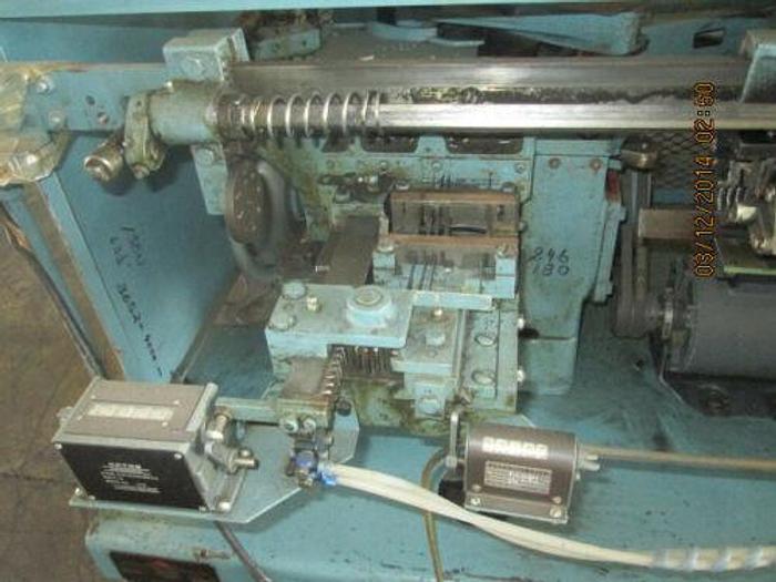 ARTOS MODEL CS-6 AUTOMATIC WIRE STRIPPER AND CUT-OFF MACHINE.