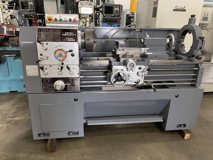 "SHARP 17""/26"" X 40"" CC GAP BED ENGINE LATHE"