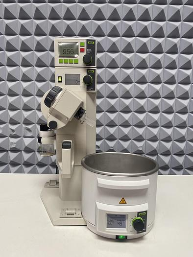 Used Buchi  R-215 Rotavapor System w/ V-850 Vacuum Controller & B-491 Heating Bath