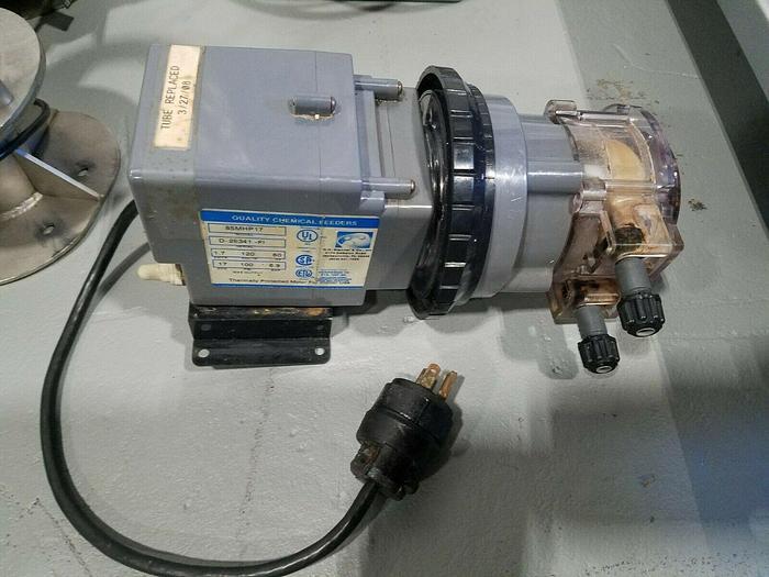 Used GH Stenner Chemical Acid Feed Pump 17 GPD