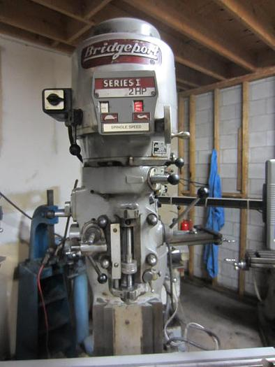 "9"" x 42"" Bridgeport Vertical Turret Milling Machine 5597"