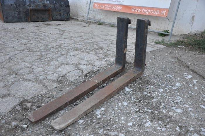 Gebraucht Schwerlastpalettengabeln 155 cm