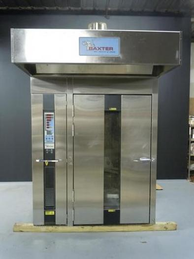 Used BAXTER OV210E-M2B ELECTRIC DOUBLE RACK OVEN C3814900
