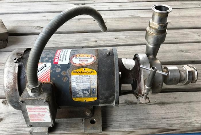 Thomsen Sanitary Tri Clamp Centrifugal Pump Model # 42049-EA