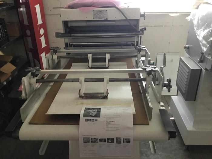 Used Acme Dough Sheeter - ON SALE THRU AUGUST 15, 2020 $600 OFF