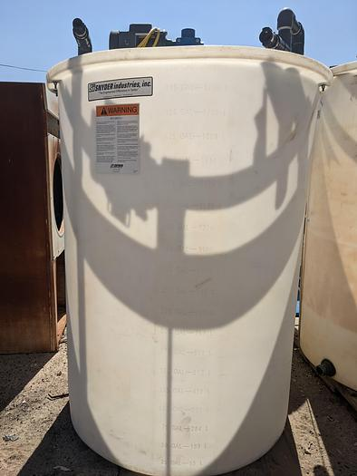 Used TK-15: 500 Gallon Vertical Tank with Mixer