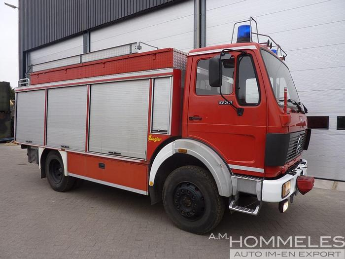 Used Mercedes 1017a 4x4