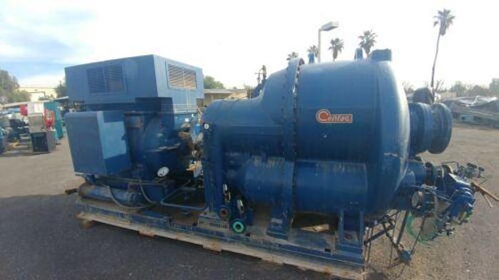 1250 H.P. INGERSOLL RAND MODEL 2C55M4 CENTAC COMPRESSOR 5500 CFM REBUILT IN 1998