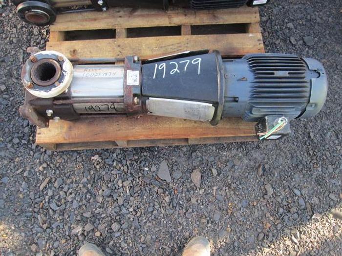 Used Grundfos Boiler Makeup Water Pump; 25HP