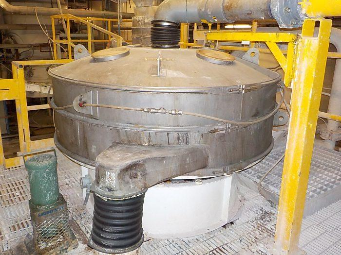 Used 72 in. SWECO VIBRO-ENERGY SEPARATOR – S/S – 1 DECK (#9328)