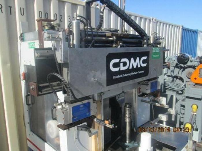 CDMC CLEVELAND MODEL 5000 GEAR DEBURRING MACHINE WITH ROBOTIC