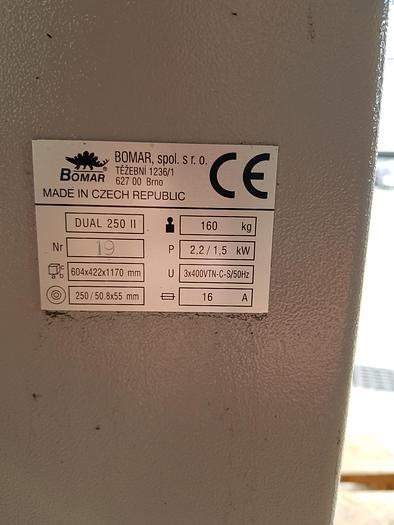Bomar Dual 250 II Bürstenentgratmaschine