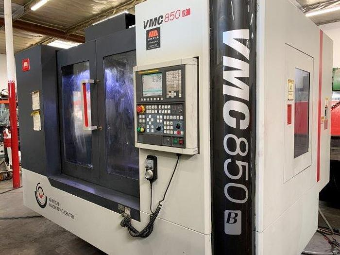 """Used 31""""X, 19""""Y, 19""""Z, SMTCL VMC850, 4th AXIS ROTARY TABLE, FANUC OI [5441]"""