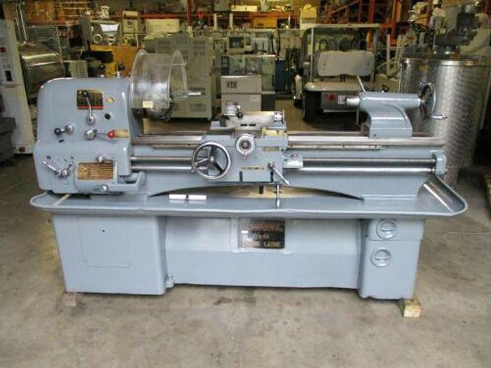 "NICE CLAUSING COLCHESTER 15' X 48"" ENGINE LATHE WITH 6 JAW BUCK CHUCK"