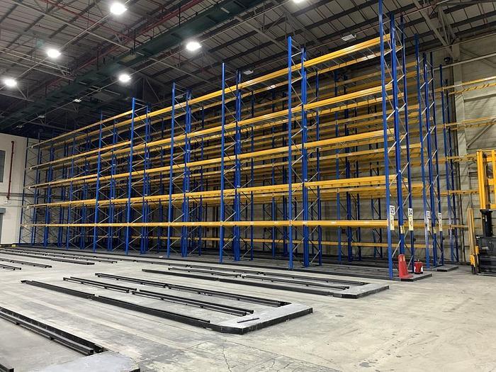Used 2015 JUNGHEINRICH Industrial Warehouse Pallet Racking