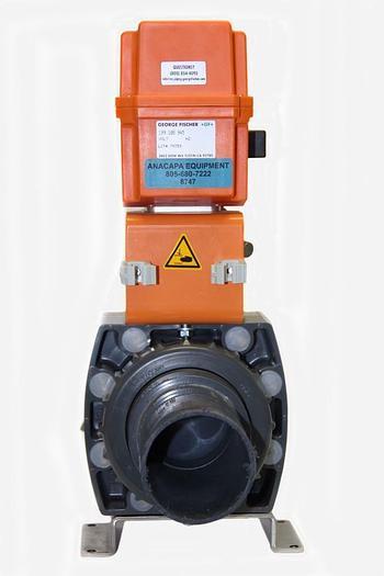 "Used George Fischer +GF+ Type 370 d90DN80 3"", 199.108.945  Actuator, DN80 (8747)W"