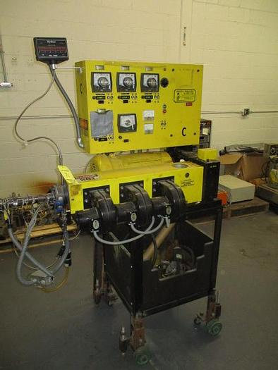 Used 1″ Wayne 24/1 L/D non-vented extruder