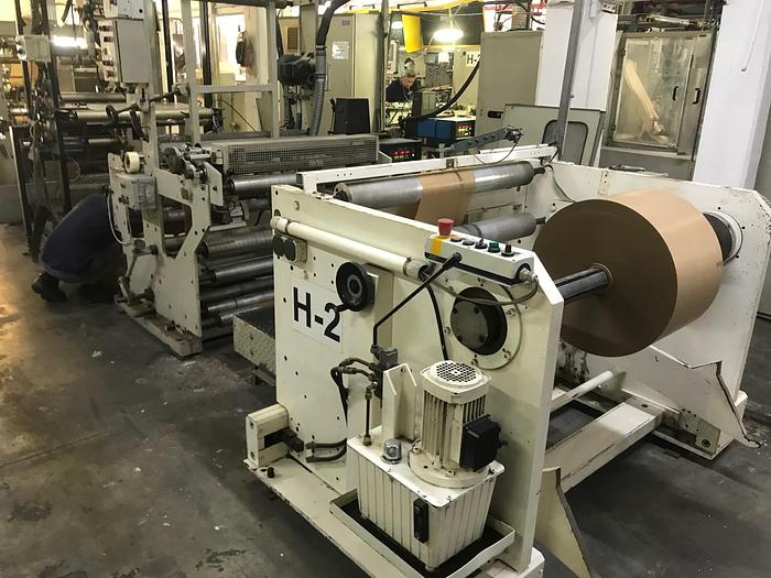 Used HOLWEG MODEL RS 26 BAG MACHINE MFG 2001