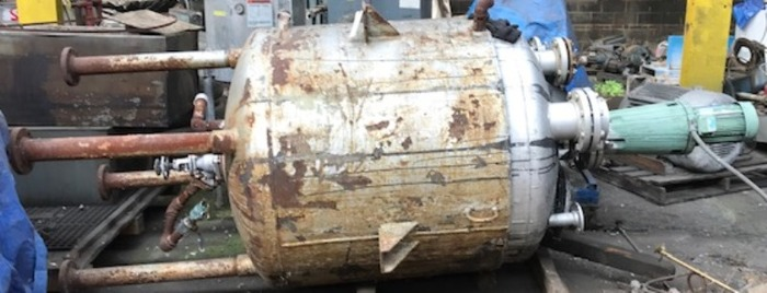 400 Gal Stainless Steel Jacketed Tank
