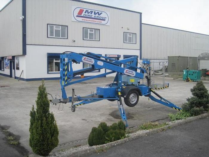 Used GENIE TZ 34- 34 FOOT ROAD TOW-