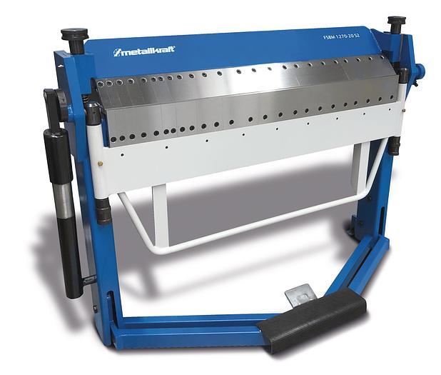 2020 Metallkraft FSBM 1270-20HS2  manuelle Schwenkbiegemaschine
