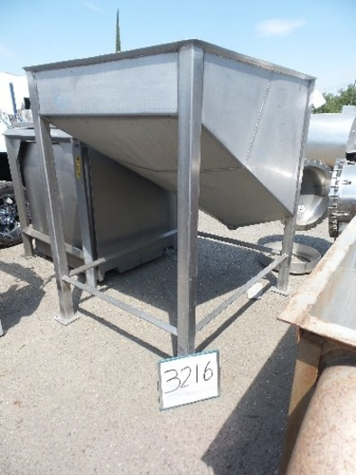 Stainless steel dump Tank #3216